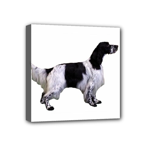 English Setter Full Mini Canvas 4  x 4