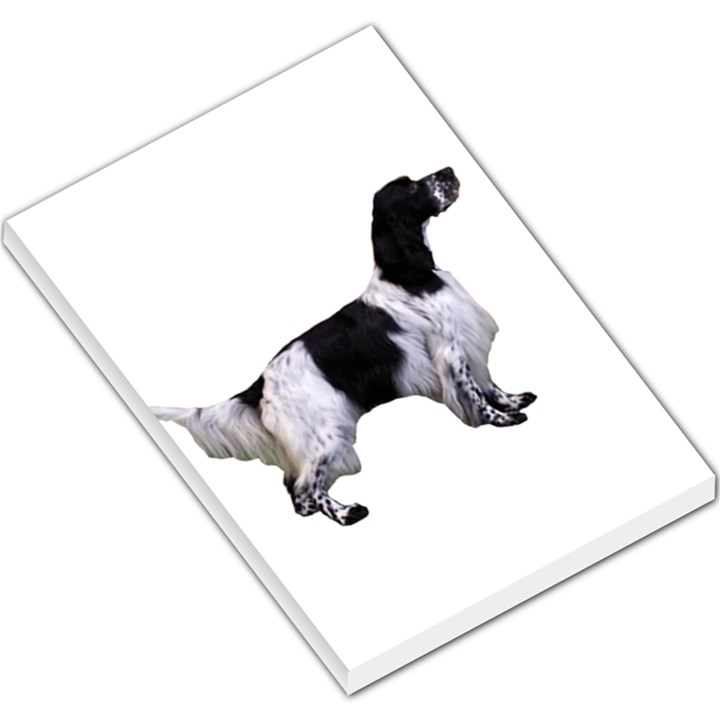 English Setter Full Large Memo Pads