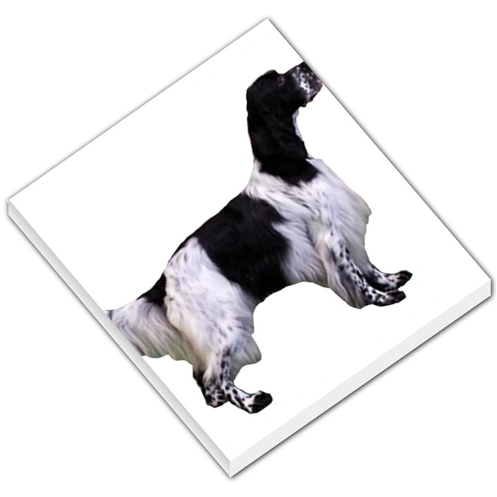 English Setter Full Small Memo Pads