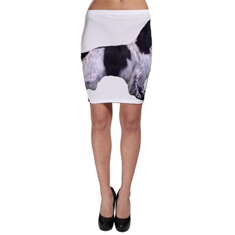 English Setter Full Bodycon Skirt