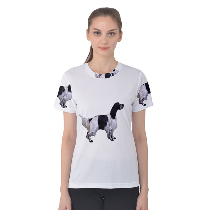 English Setter Full Women s Cotton Tee