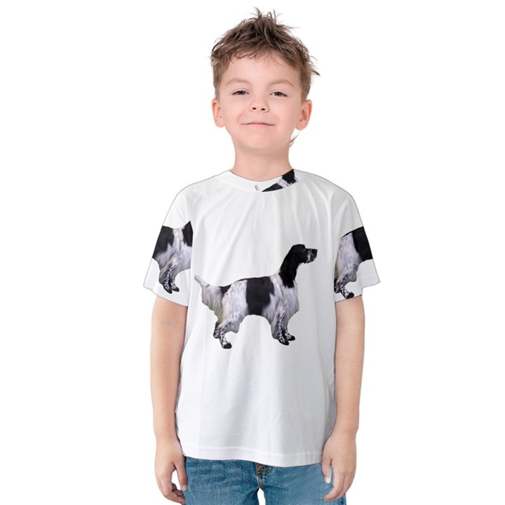 English Setter Full Kids  Cotton Tee