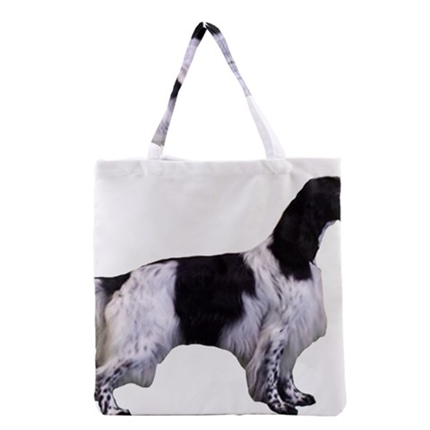 English Setter Full Grocery Tote Bag