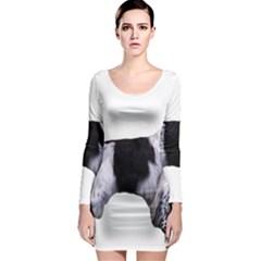 English Setter Full Long Sleeve Bodycon Dress