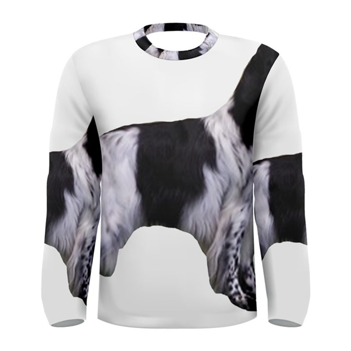 English Setter Full Men s Long Sleeve Tee