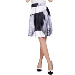 English Setter Full A-Line Skirt