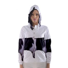 English Setter Full Hooded Wind Breaker (Women)