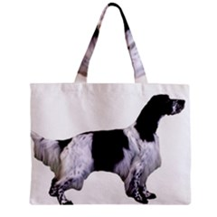 English Setter Full Zipper Mini Tote Bag