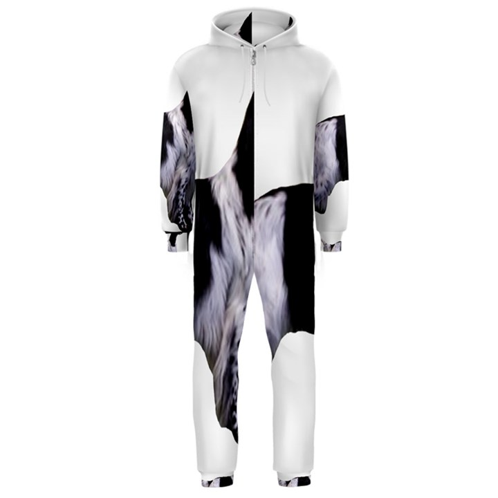 English Setter Full Hooded Jumpsuit (Men)