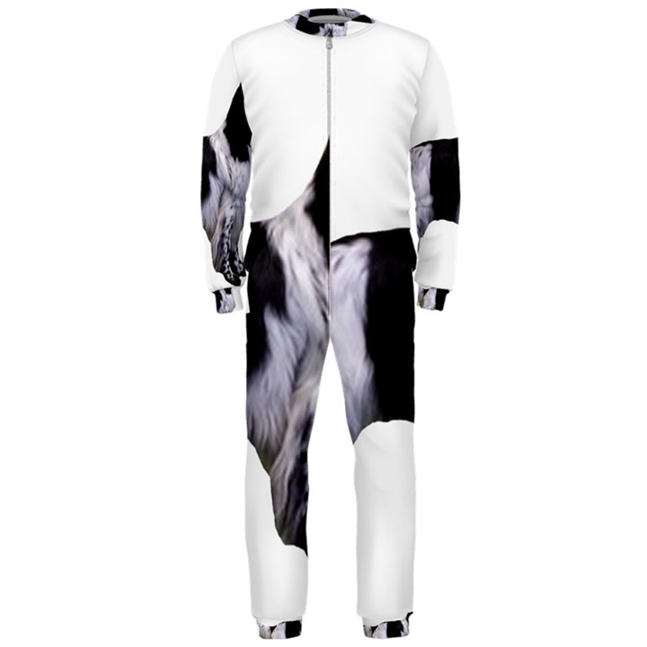 English Setter Full OnePiece Jumpsuit (Men)