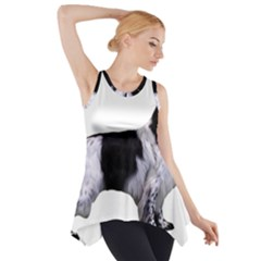 English Setter Full Side Drop Tank Tunic
