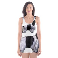 English Setter Full Skater Dress Swimsuit