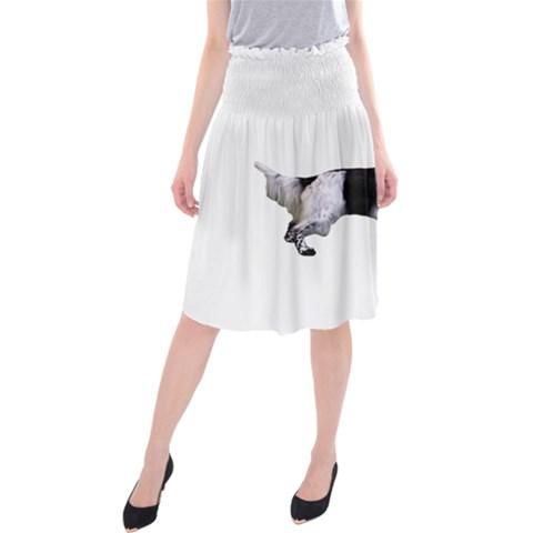 English Setter Full Midi Beach Skirt