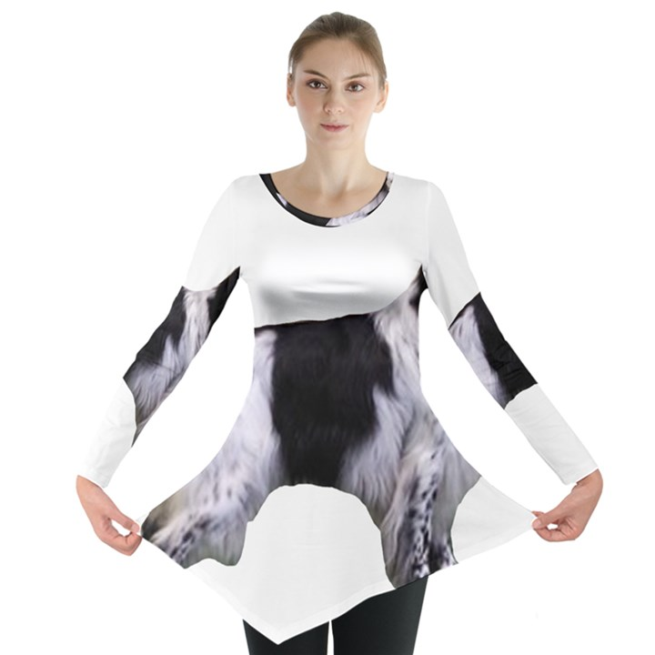 English Setter Full Long Sleeve Tunic