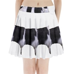 English Setter Full Pleated Mini Skirt