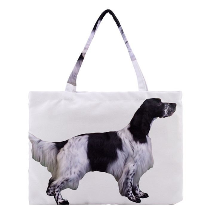 English Setter Full Medium Tote Bag