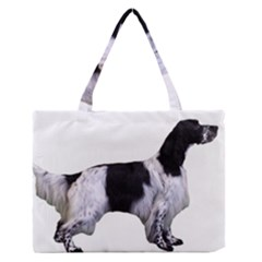English Setter Full Medium Zipper Tote Bag