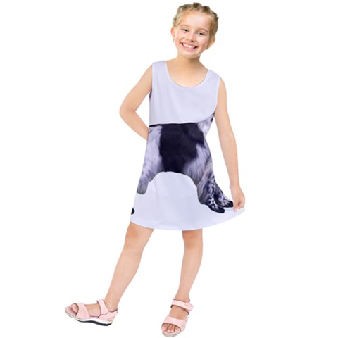 English Setter Full Kids  Tunic Dress