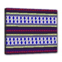 Colorful Retro Geometric Pattern Deluxe Canvas 24  x 20   View1