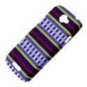 Colorful Retro Geometric Pattern HTC One S Hardshell Case  View4