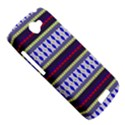 Colorful Retro Geometric Pattern HTC One S Hardshell Case  View5