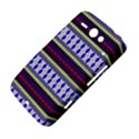 Colorful Retro Geometric Pattern HTC ChaCha / HTC Status Hardshell Case  View4