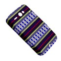 Colorful Retro Geometric Pattern HTC ChaCha / HTC Status Hardshell Case  View5