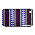 Colorful Retro Geometric Pattern Apple iPhone 3G/3GS Hardshell Case (PC+Silicone) View1