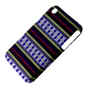 Colorful Retro Geometric Pattern Apple iPhone 3G/3GS Hardshell Case (PC+Silicone) View4