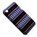 Colorful Retro Geometric Pattern Apple iPhone 3G/3GS Hardshell Case (PC+Silicone) View5