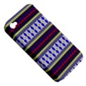 Colorful Retro Geometric Pattern Apple iPhone 4/4S Hardshell Case (PC+Silicone) View5