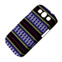 Colorful Retro Geometric Pattern Samsung Galaxy S III Classic Hardshell Case (PC+Silicone) View4