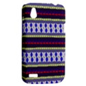 Colorful Retro Geometric Pattern HTC Desire V (T328W) Hardshell Case View2