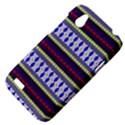 Colorful Retro Geometric Pattern HTC Desire V (T328W) Hardshell Case View4