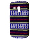Colorful Retro Geometric Pattern Samsung Galaxy S3 MINI I8190 Hardshell Case View3