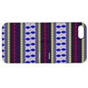 Colorful Retro Geometric Pattern Apple iPhone 5 Hardshell Case with Stand View1