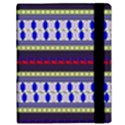 Colorful Retro Geometric Pattern Samsung Galaxy Tab 10.1  P7500 Flip Case View3