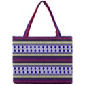 Colorful Retro Geometric Pattern Mini Tote Bag View1