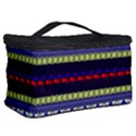 Colorful Retro Geometric Pattern Cosmetic Storage Case View2