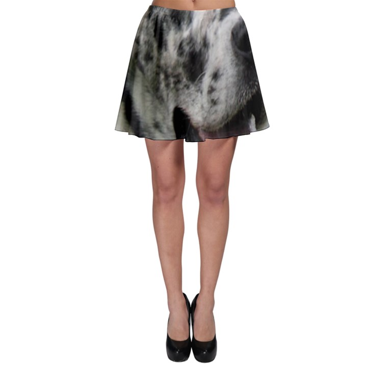 Great Dane harlequin  Skater Skirt