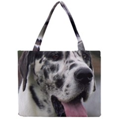Great Dane harlequin  Mini Tote Bag