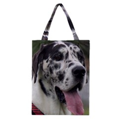 Great Dane harlequin  Classic Tote Bag