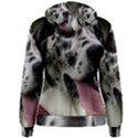 Great Dane harlequin  Women s Pullover Hoodie View2