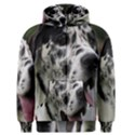 Great Dane harlequin  Men s Zipper Hoodie View1