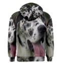 Great Dane harlequin  Men s Zipper Hoodie View2