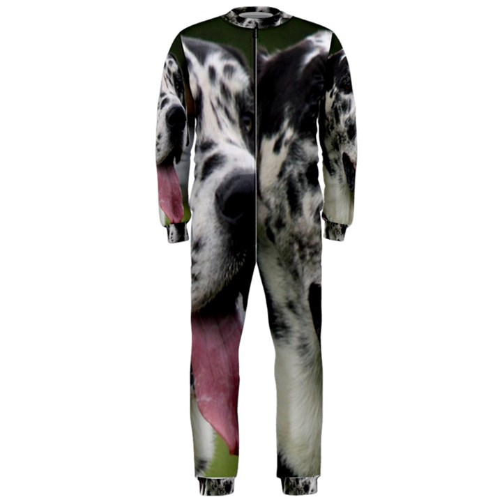Great Dane harlequin  OnePiece Jumpsuit (Men)