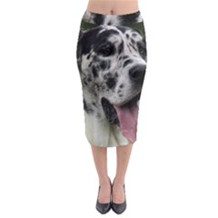 Great Dane harlequin  Midi Pencil Skirt