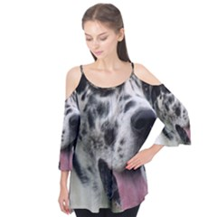 Great Dane harlequin  Flutter Tees