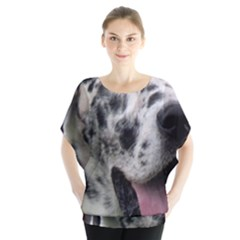 Great Dane harlequin  Blouse