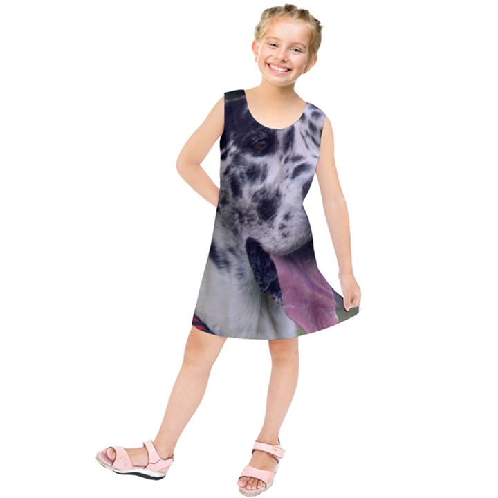 Great Dane harlequin  Kids  Tunic Dress